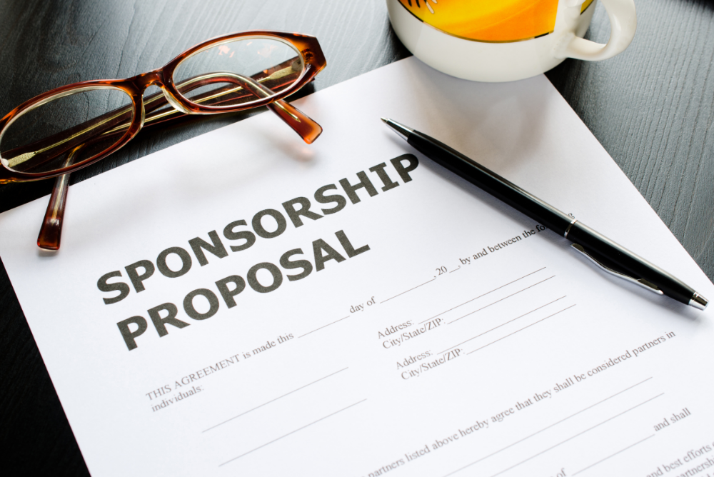 seeking and negotiating sponsorship
